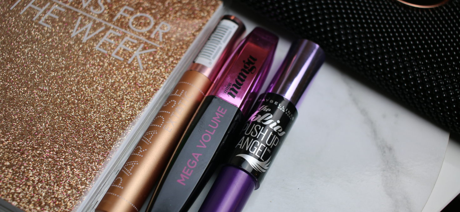 Top 3 favourite mascaras